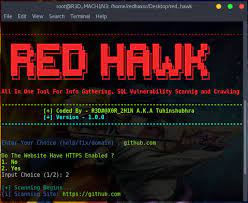 Install Red Hawk Tool In Termux and Basic Commands. – vynx blog